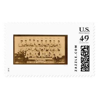 New York Yankees Baseball 1913 Stamps