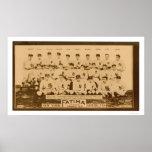 New York Yankees Baseball 1913 Print