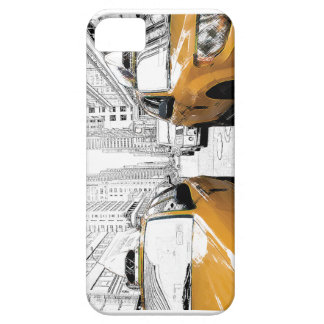 """""""New York Yellow Cabs"""" iPhone SE/5/5s Case"""