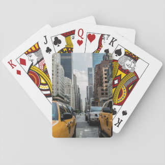 New York Yellow Taxi Cabs Playing Cards