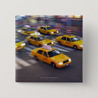 New York Yellow Taxi's Pinback Button