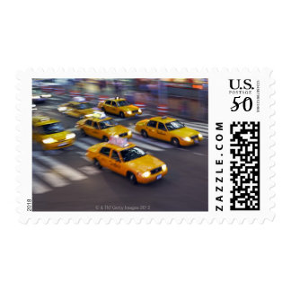 New York Yellow Taxi's Postage