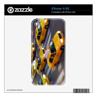 New York Yellow Taxi's Skins For iPhone 4S