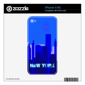 New York Zazzle Skin iPhone 4 Skin