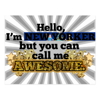 New Yorker, but call me Awesome Postcard