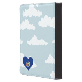 New Yorker Flag on a cloudy background Kindle 4 Cover