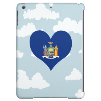New Yorker Flag on a cloudy background iPad Air Case