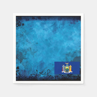 New Yorker flag Standard Cocktail Napkin