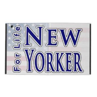 New Yorker For Life iPad Folio Cases