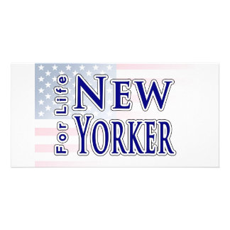 New Yorker For Life Photo Greeting Card