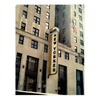 New Yorker Hotel Postcard