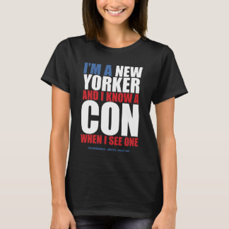 "New Yorker ""I Know A Con"" T-Shirt"