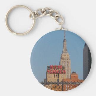 New Yorker Keychain