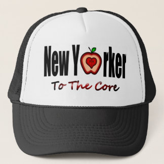 New Yorker To The Core With Sliced Big Apple Trucker Hat
