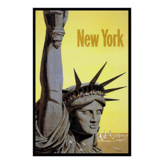 New Yorkers. Liberty Poster