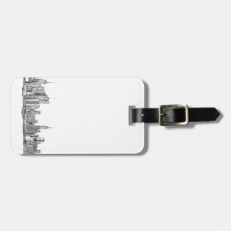New Yorker's travellers luggage tags