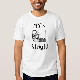 New York's Alright T Shirt