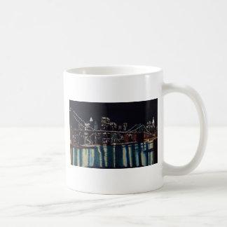 New Yorks Brooklin Bridge Coffee Mug
