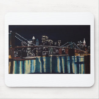 New Yorks Brooklin Bridge Mouse Pad