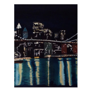 New Yorks Brooklin Bridge Postcard