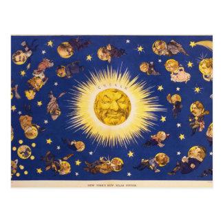 New York's New Solar System by Udo J. Keppler Postcard