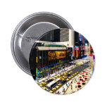New York's Times Square in miniature Pinback Buttons