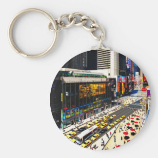 New York's Times Square in miniature Keychain
