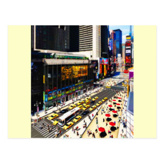 New York's Times Square in miniature Postcard