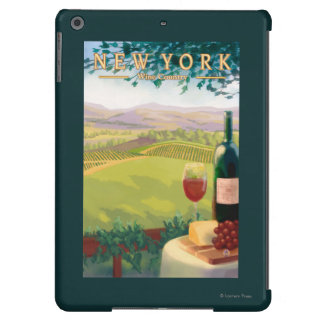 New YorkWine Country Scene iPad Air Cases