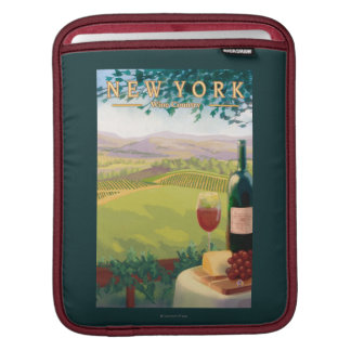 New YorkWine Country Scene Sleeves For iPads