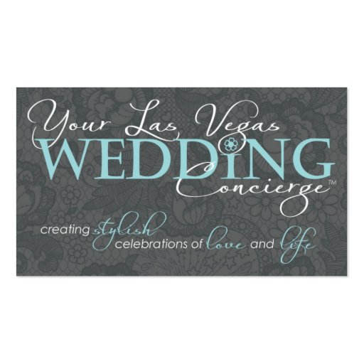 New Your LV Wedding Business Card