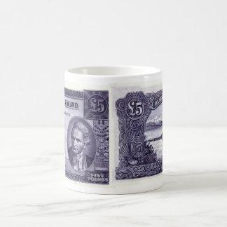 New Zealand (1955-56) 5 Pound Coffee Mug