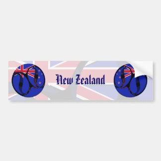 New Zealand #1 Bumper Sticker