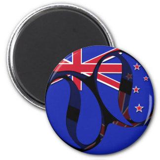 New Zealand 1 Refrigerator Magnets