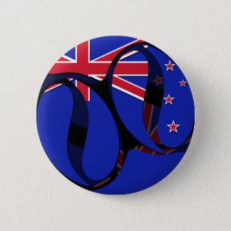 New Zealand #1 Pinback Button