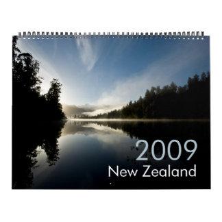 New Zealand 2009 Calendar