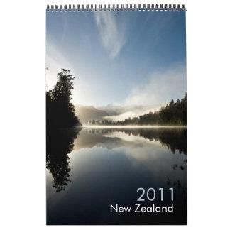 New Zealand 2011 Calendar