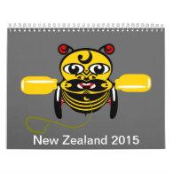 New Zealand 2015 Calendar