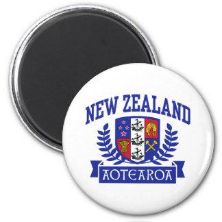 New Zealand 2 Inch Round Magnet