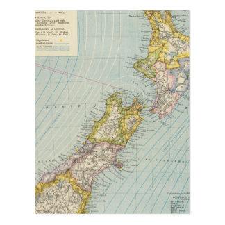 New Zealand 4 Postcard
