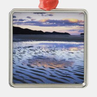 New Zealand, Abel Tasman National Park, Coast Metal Ornament