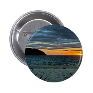 New Zealand Abel Tasman Sunset Button