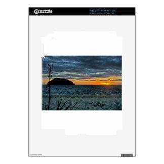 New Zealand Abel Tasman Sunset Decals For The iPad 2