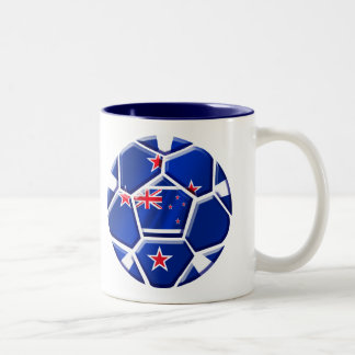 New Zealand All whites soccer ball gifts 2010 Gear Two-Tone Coffee Mug