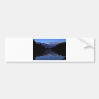 New Zealand Alps Bumper Sticker