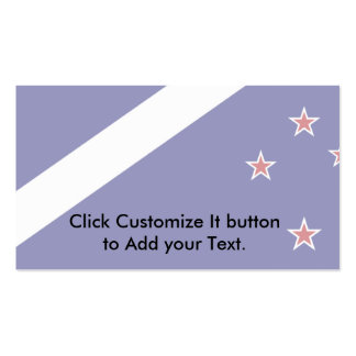 New Zealand (Alternative), New Zealand flag Double-Sided Standard Business Cards (Pack Of 100)
