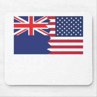 New Zealand American Flag Mouse Pad