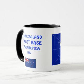 New Zealand Antarctica Scott Station Mug