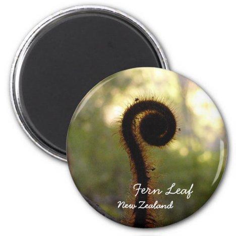 New Zealand, Aotearoa, Fern Leaf (Magnet)