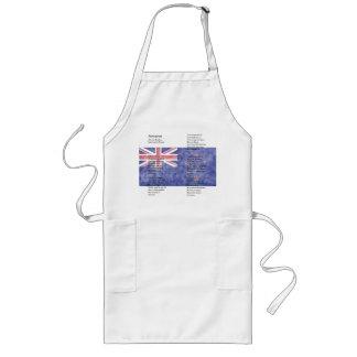New Zealand - Aotearoa Long Apron